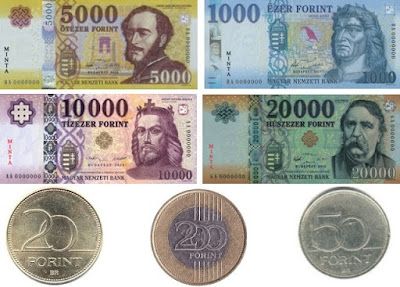 Countries and Currency Hungary Forint