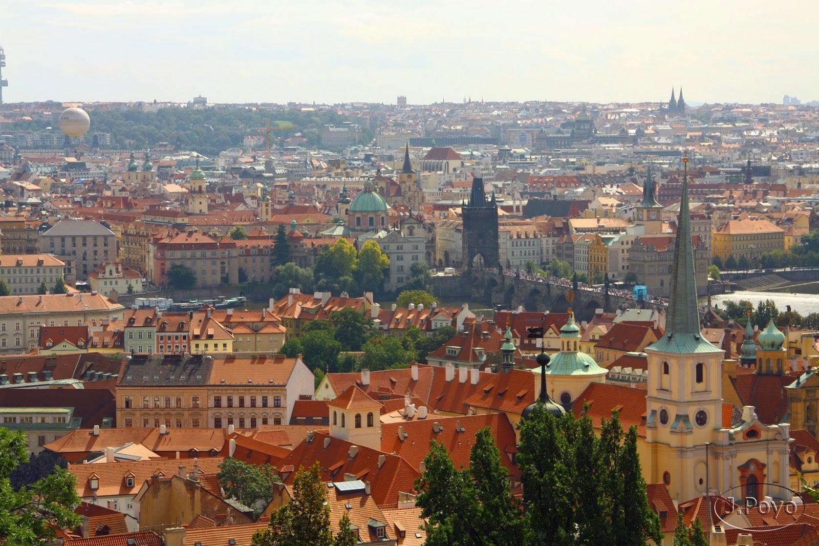 Visitando el Castillo de Praga y Malá Strana