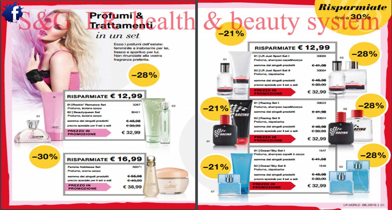 low priced a97c3 b28e6 S&G LR health & beauty system: #S&G #Catalogo di #Agosto ...