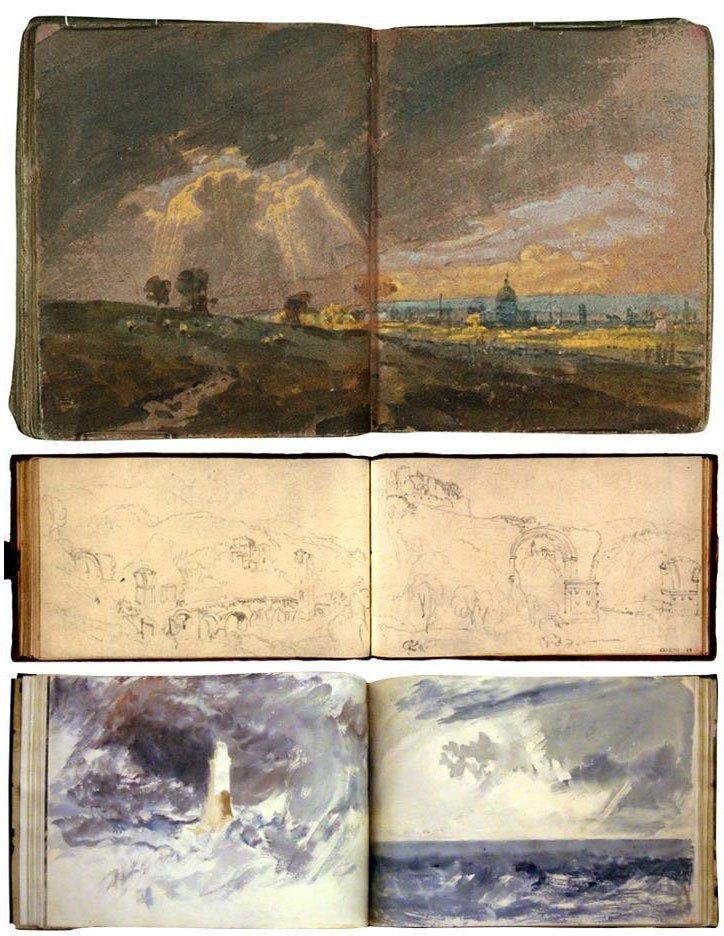 Turner Watercolor Paintings : turner, watercolor, paintings, Gurney, Journey:, Turner, Painted, Watercolor