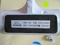 unten: GHB dimmbare LED Schreibtischlampe 3-Level Helligkeit 360° flexiblen Schwanenhals Tischlampe -Weiß [Energieklasse A+]