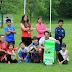 Una tarde de rugby infantil en Gorostiza da inicio a las fiestas de Cruces