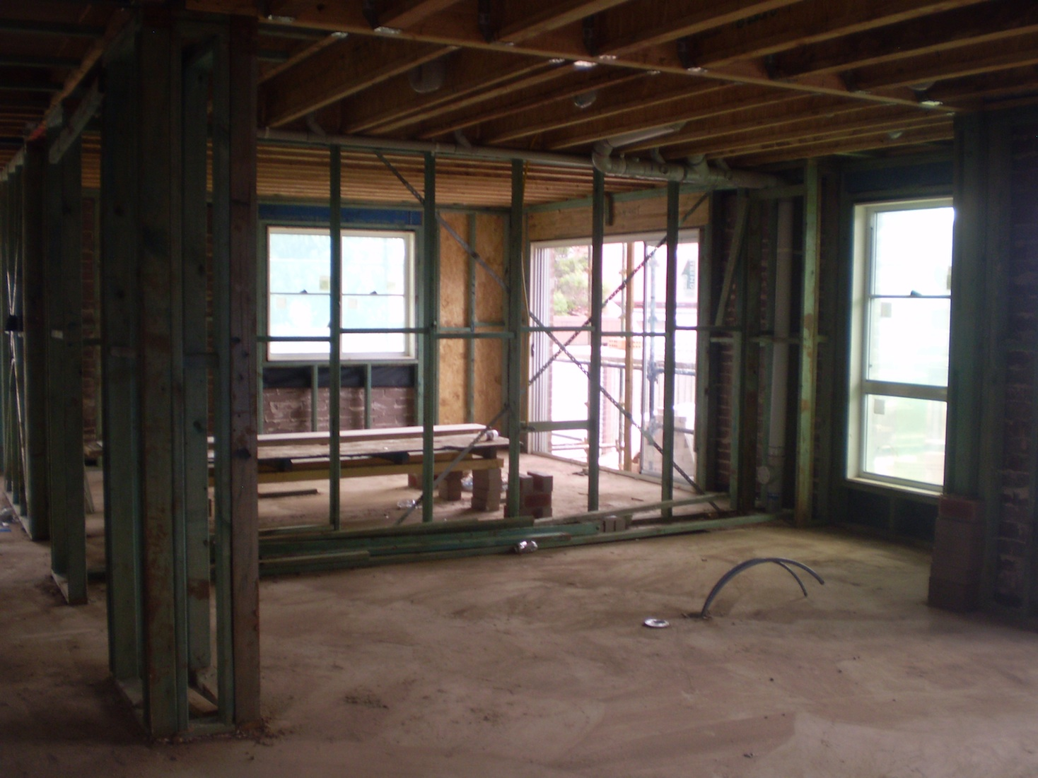 Internal Knock Through Between Kitchen And Dining Room: Summer Hill- Knock Down Rebuild. Building With Wisdom