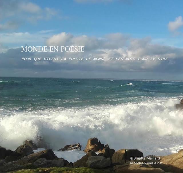 Monde en poésie Brigitte Maillard