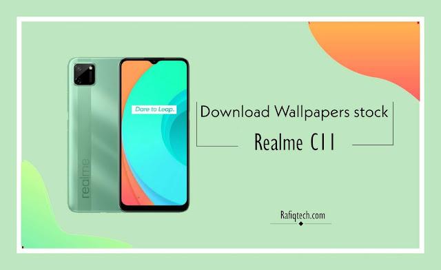 تحميل خلفيات ريلمي Realme C11 الرسمية بجودة عالية الدقة [HD+]