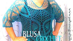 Blusa Calada Crochet Talla XL / Tutorial en video