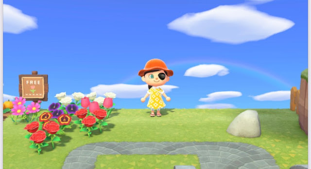 Animal Crossing rainbow