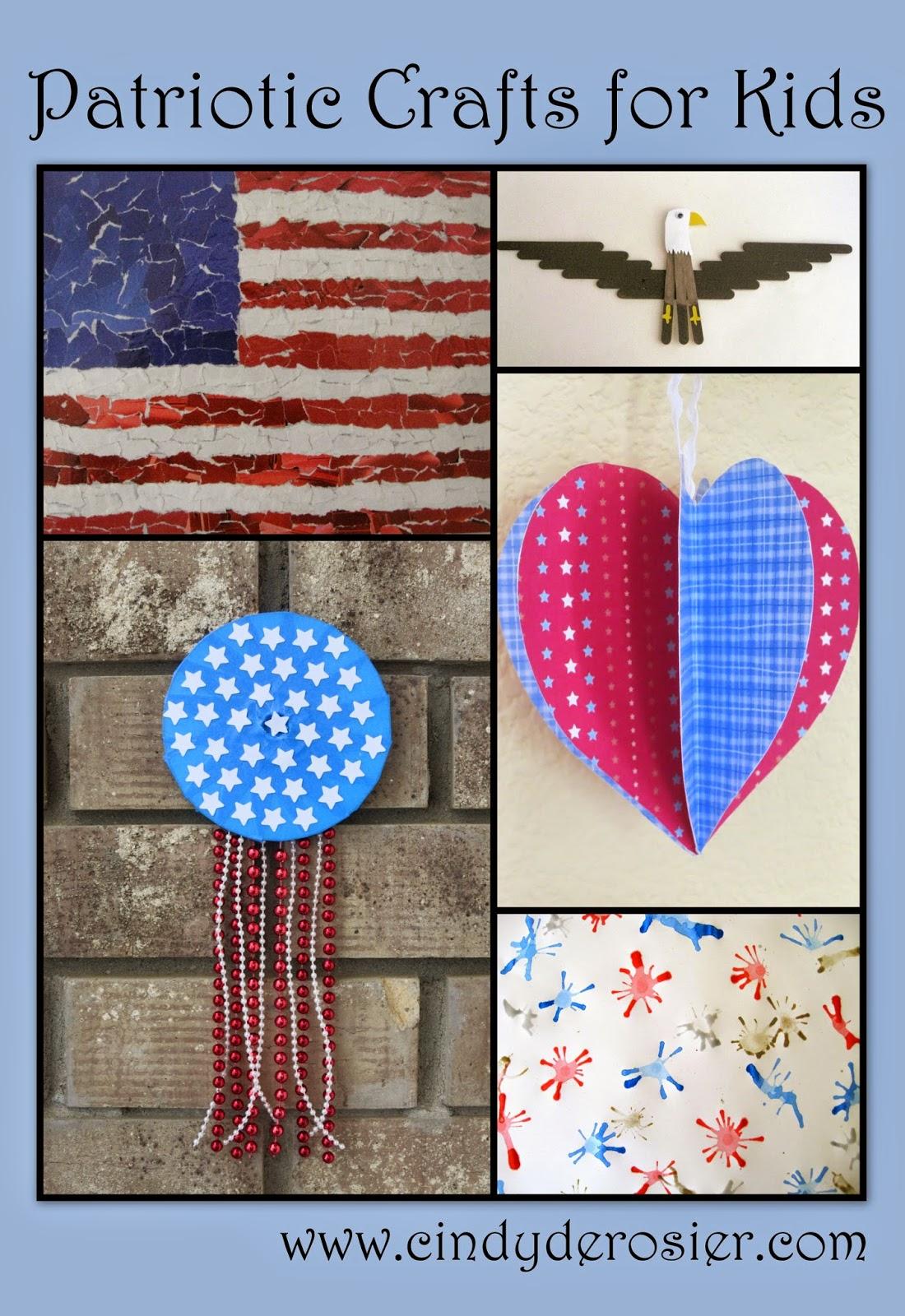 Cindy Derosier My Creative Life Patriotic Kids Crafts