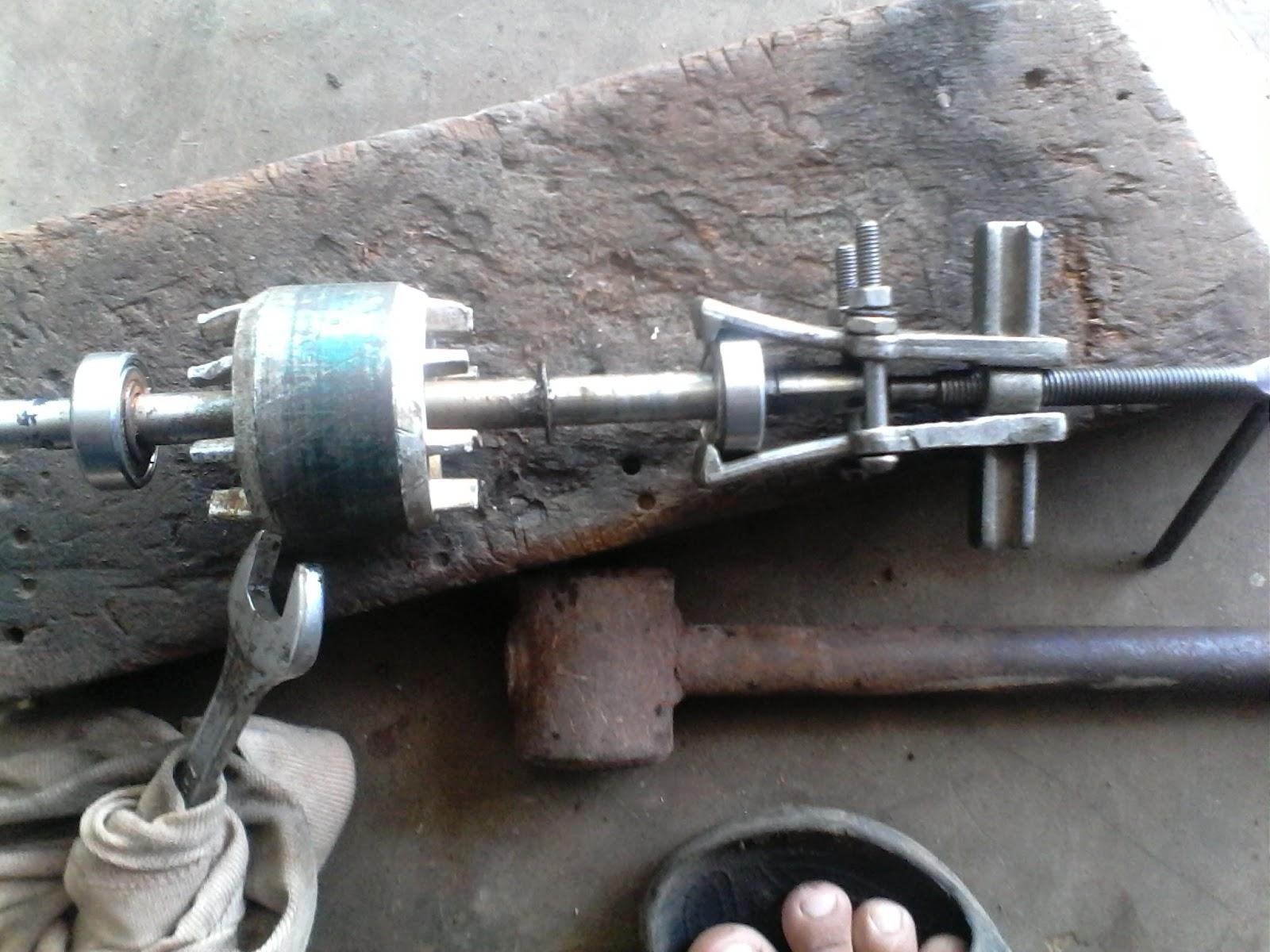 cara mengganti bering atau laher Pompa air, atau kipas angin ...