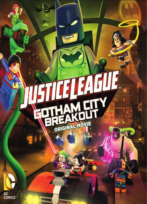 LEGO: Liga da Justiça – Fuga em Massa em Gotham City Dublado