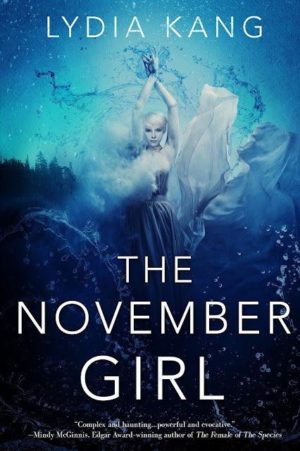Beautiful 2017 Book Cover Designs  November Girl by Lydia Kang