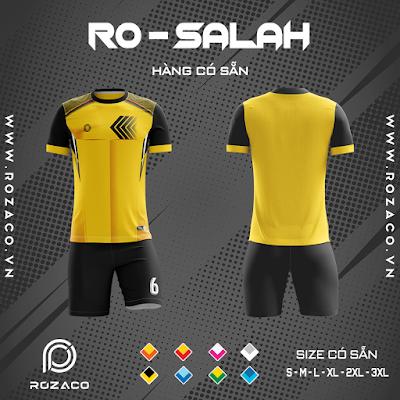 Áo Không Logo Rozaco RO-SALAH Màu Vàng