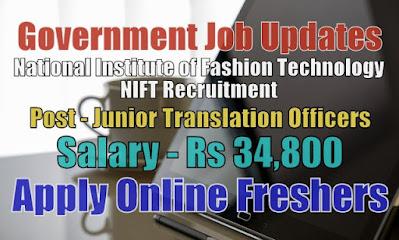 NIFT Recruitment 2020
