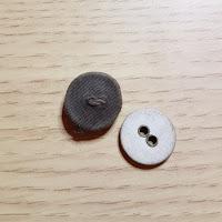 khaki - Gina Barrett / Gina-B Silkworks Button Autopsy