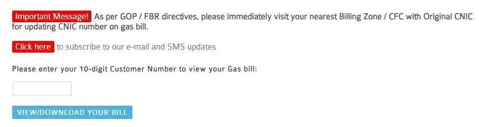 SSGC Bill Check Online   SSGC Bill Duplicate Online   SSGC Gas Bill