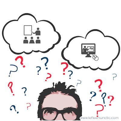 que choisir, cours présentiels ou cours online ?