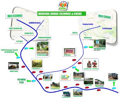 Pertemuan Sungai Cileungsi Cikeas Siaga 2, Banjir Menggenangi Sejumlah Wilayah Bekasi