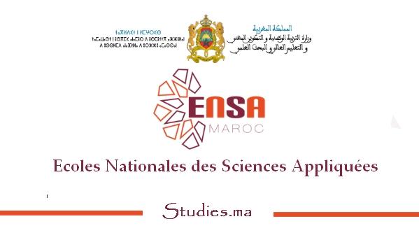Écoles nationales des sciences appliquées (ENSA) 2019 - 2020