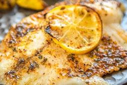 Keto Dinner | Baked Lemon Butter Tilapia
