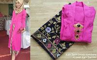 Kebaya Batik Prada Baloteli Panjang