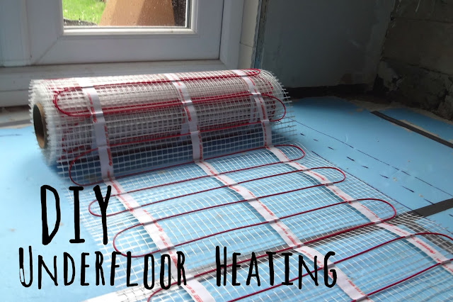 how to fit  your own underfloor heating diy