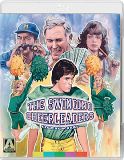 DVD & Blu-ray Release Report, Swinging Cheerleaders, Ralph Tribbey