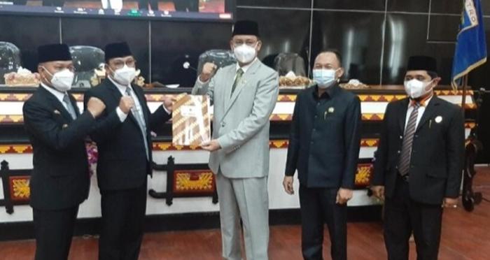 DPRD Kota Metro Gelar Sidang Penyampian SK LKPJ Walikota