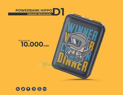 Mockup Powerbank Hippo D1