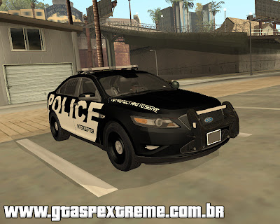 Ford Taurus Police Interceptor 2011 para grand theft auto