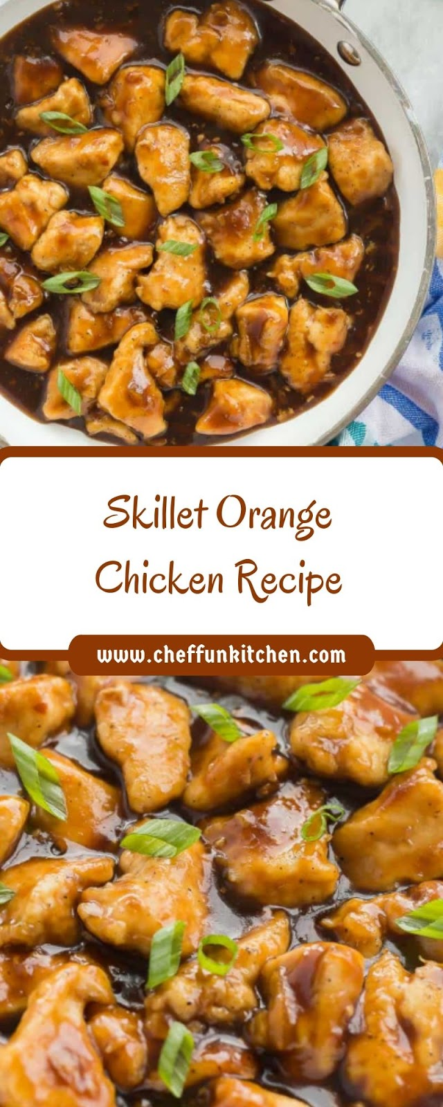 Skillet Orange Chicken Recipe