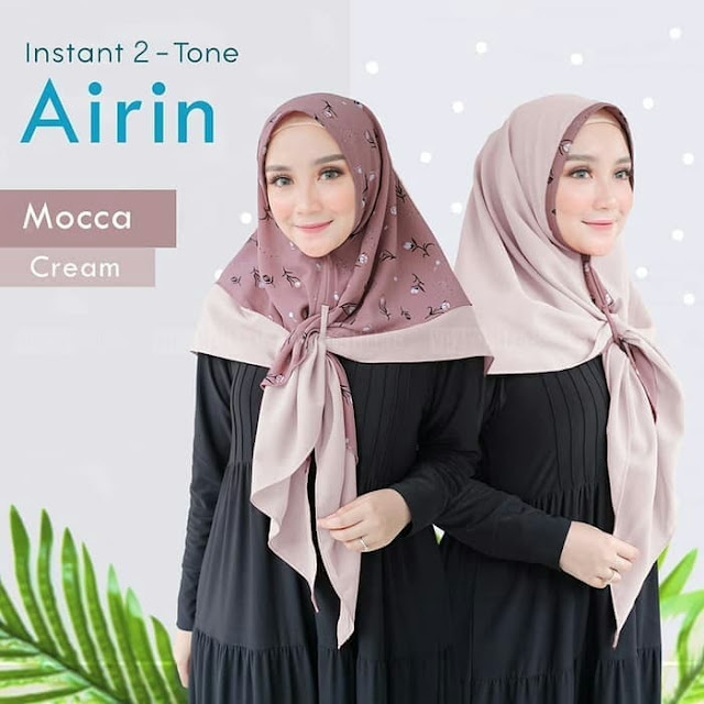 Jilbab Instan Bolak Balik Dua Warna Terbaru