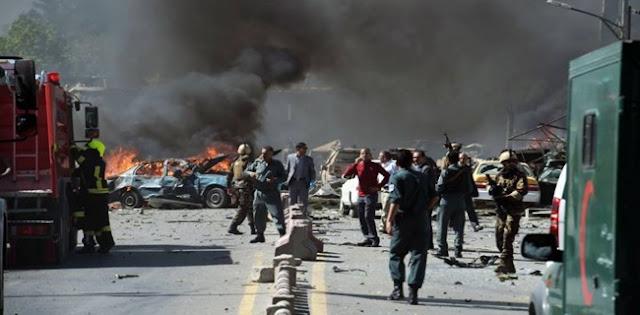 Serangan Bom Mobil Taliban Di Kantor Intelijen Afghanistan Tewaskan 11 Personel Keamanan, Puluhan Warga Sipil Luka-luka