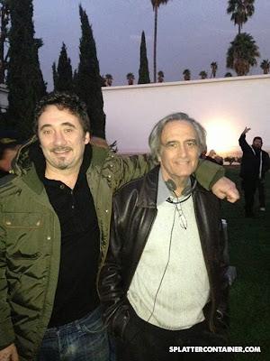 Burying the Ex: Federico Zampaglione (sinistra) e Joe Dante (destra)