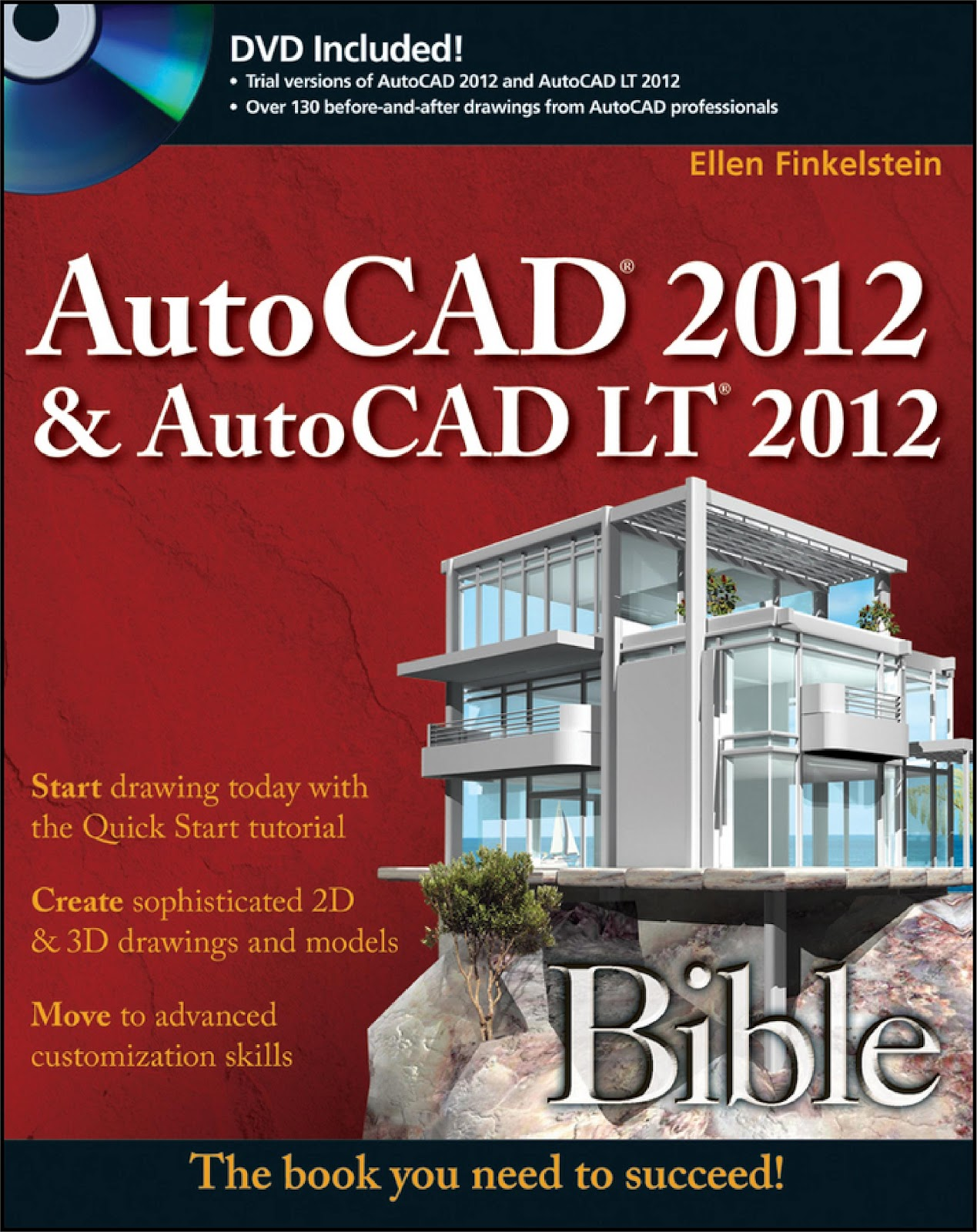 AutoCAD Bible 2012 Tutorial pdf and AutoCAD 3D Tutorial LT