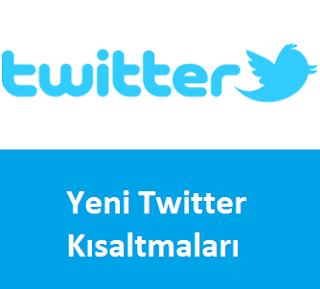 Yeni Twitter Kısaltmaları
