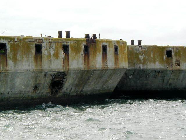 cement boat, concrete ships, concrete hull, concrete liberty ships, concrete ships ww2