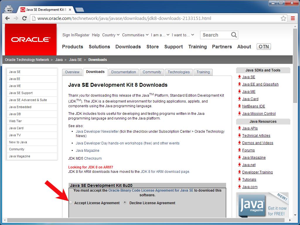 Java ee jdk download windows 7