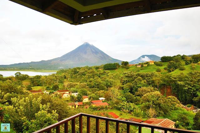 Vistas desde El Castillo de la Fortuna, Costa Rica