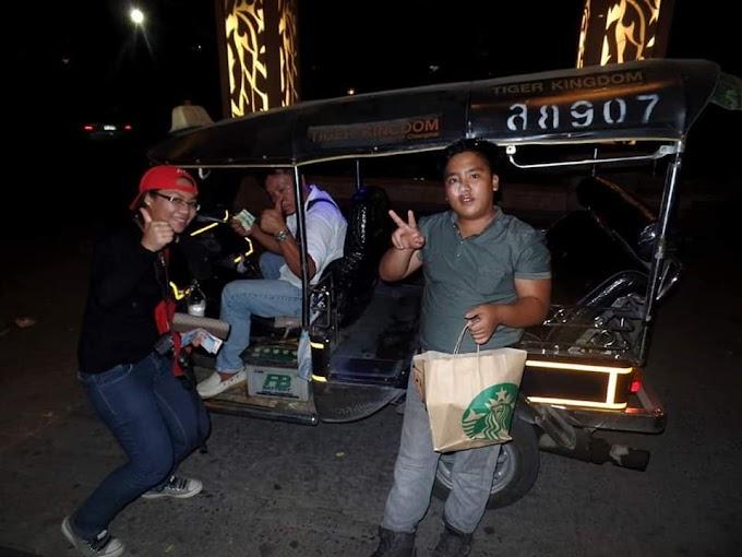 PENGALAMAN NAIK TUK-TUK DAN SESAT DI THAILAND