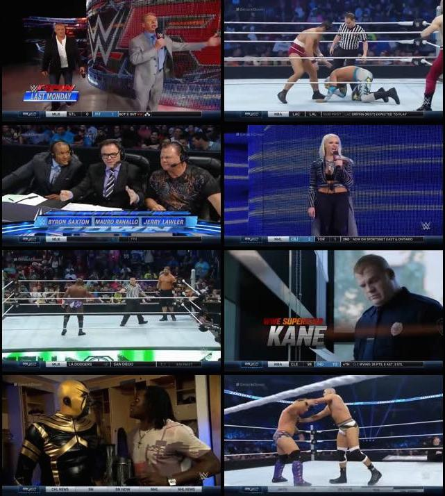 WWE Thursday Night Smackdown 07 April 2016 HDTV 480p