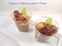 Cremoso de hígado con Gelée de vermut