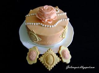 Tarta y galletas día de madre
