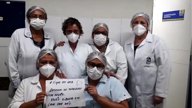 Auxiliares e Técnicos de Enfermagem do Recife paralisam atividades e realizam ato nesta segunda (14)