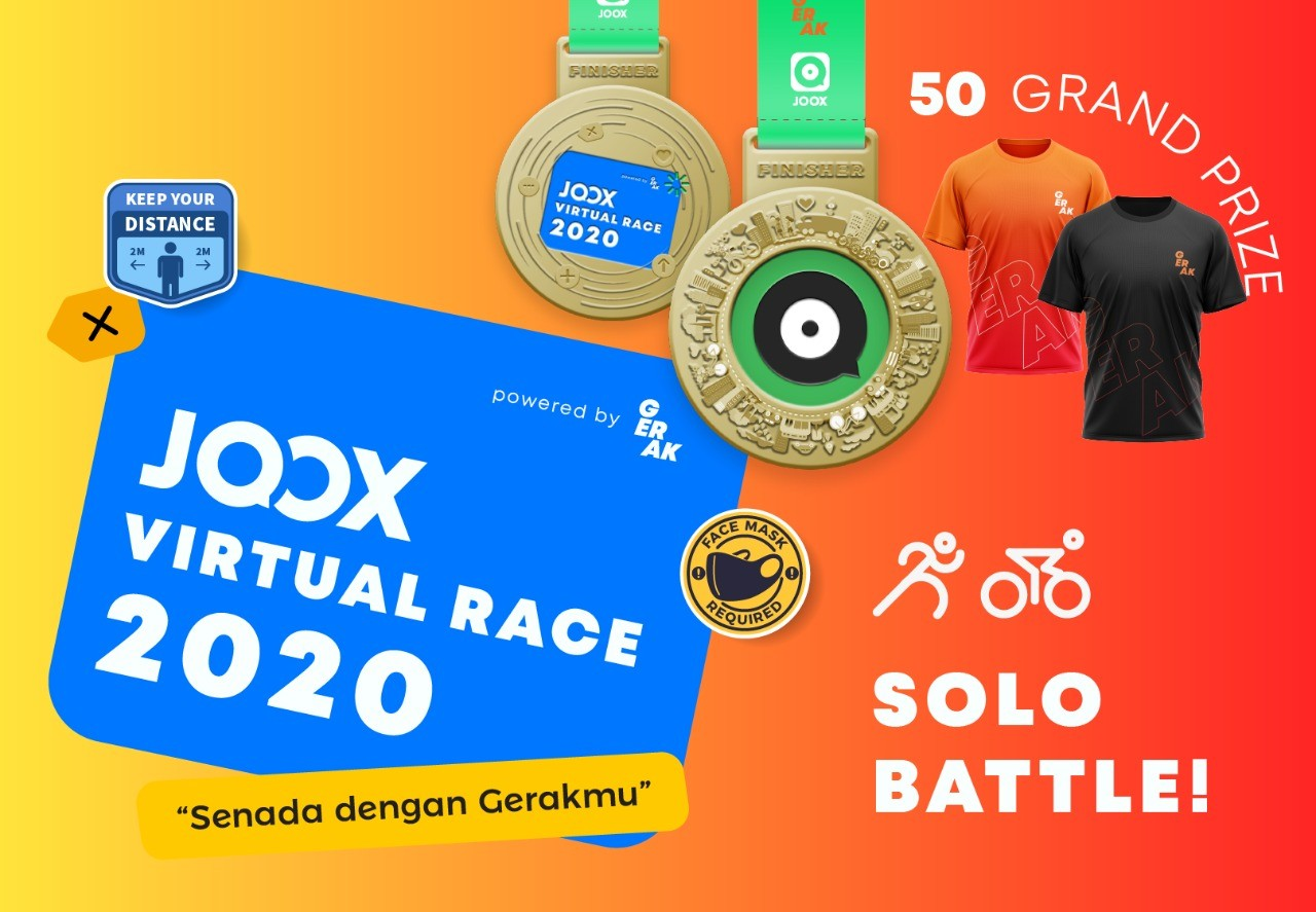 JOOX Virtual Race - Solo Battle • 2020