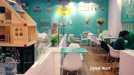 Ice Cream Village:Wangsa Walk