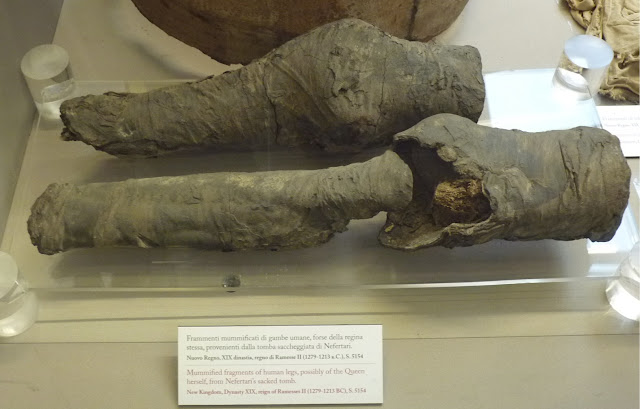 Mummified remains identified as Egyptian Queen Nefertari