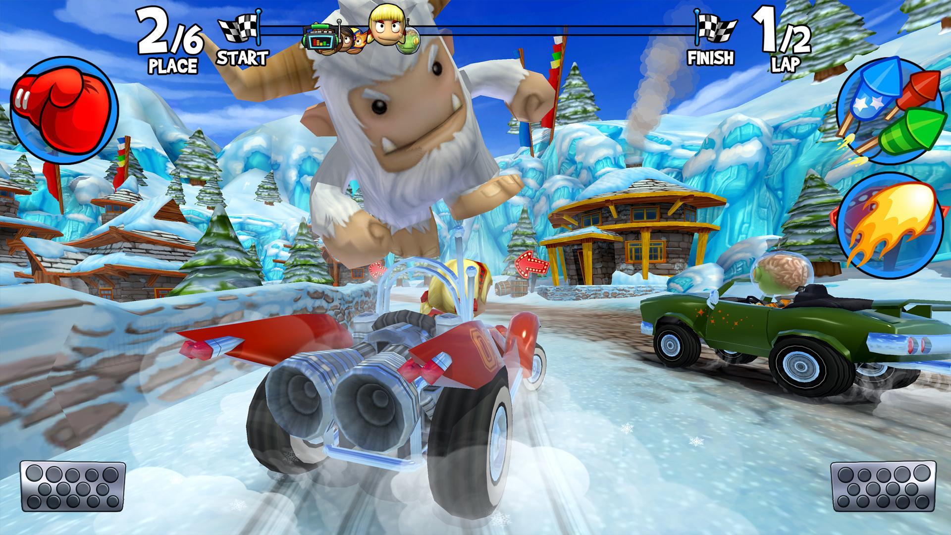 beach buggy racing mod apk latest version
