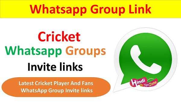 Cricket Fans And Player Whatsapp Group Join Link List 2019