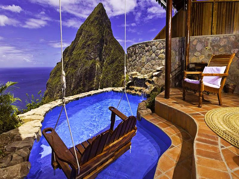 3. Ladera Resort, St. Lucia - 10 Amazing Hotels You Need To Visit Before You Die