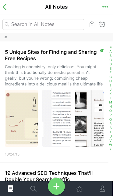 Evernote is one the must have smartphone apps